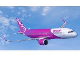 สายการบินPeachโลว์คอสรายแรกญี่ปุ่นออเดอร์ A320NEO 10 ลำ และ A320CEO 3 ลำ